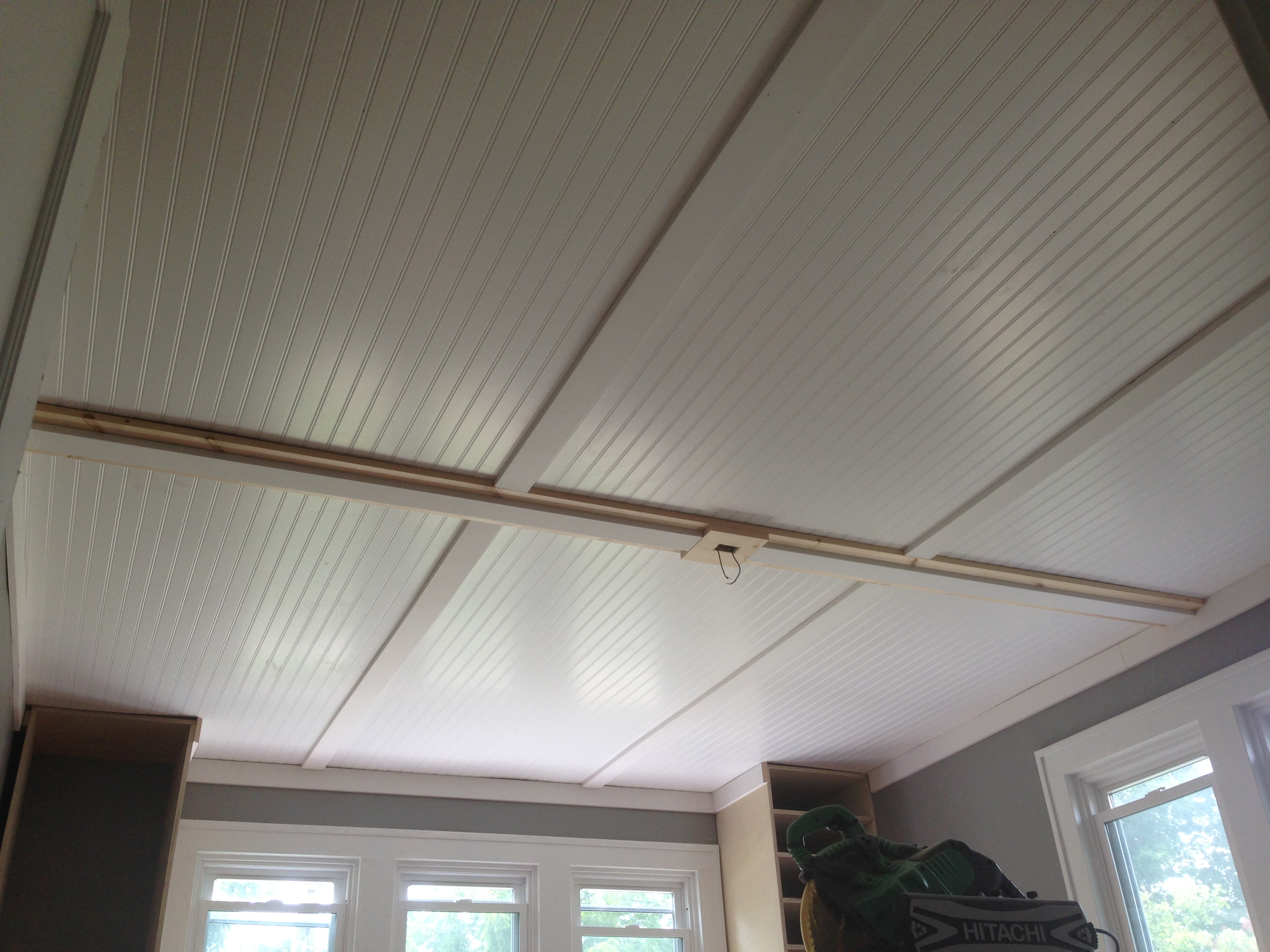 The Best Decision We Ever Made Lifestyle Design Online - Can you put beadboard over popcorn ceiling