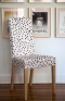Caitlin Wilson's Patterned Chair Ikea Hack