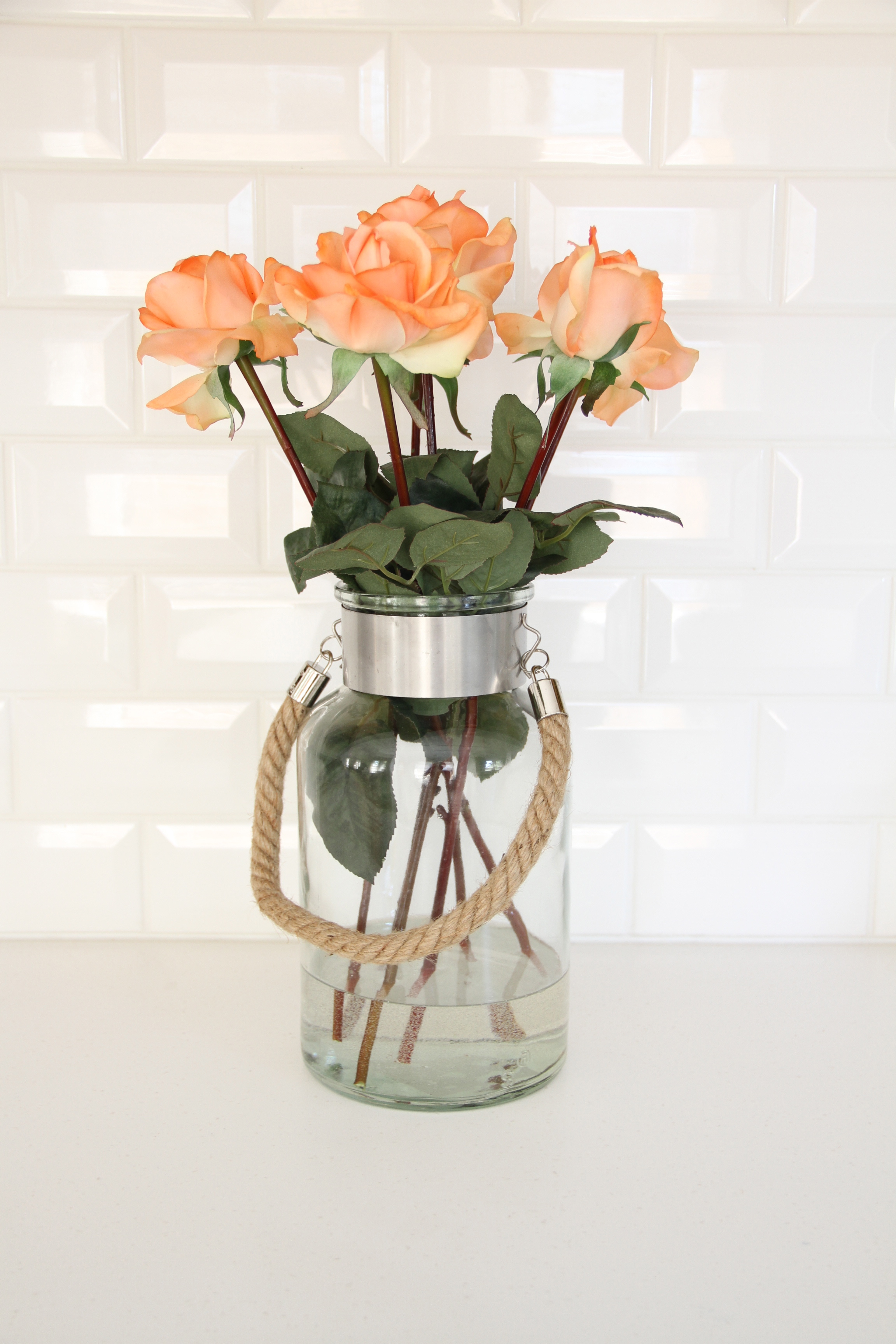 Plant and flower trickery lifestyle design online these roses are a bit more on the expensive side but if you are going to get artificial flowers spring for the nicer ones they look and feel so much more izmirmasajfo
